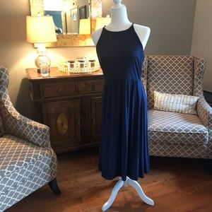 LOFT blue dress, medium